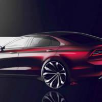 Volkswagen Midsize Coupe Concept unveiled