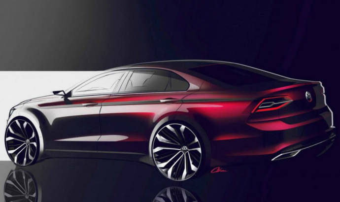 Volkswagen Midsize Coupe Concept unveiled