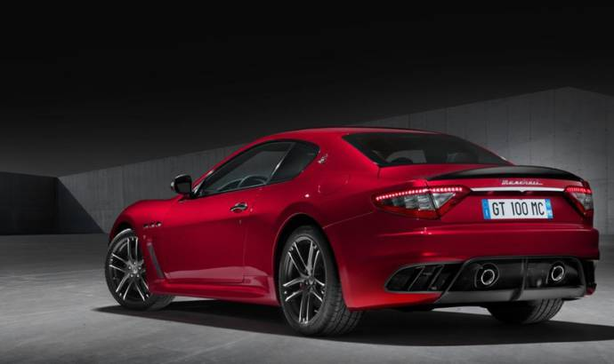 Maserati GranTurismo MC Centennial Edition unveiled in New York