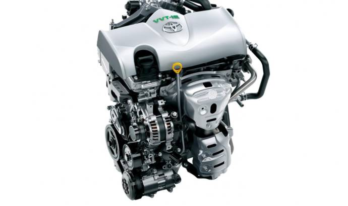 Toyota 1.3 liter engine Atkinson cycle revised