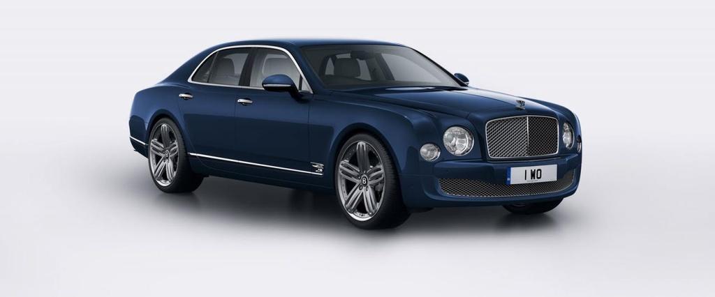 2014 Bentley Mulsanne 95 unveiled