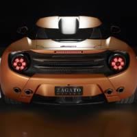2014 Lamborghini 5-95 Zagato Concept revealed at Concorso d'Eleganza Villa d'Este