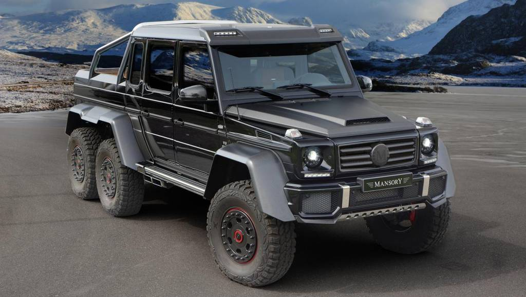 2014 Mercedes-Benz G63 AMG 6x6 by Mansory