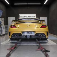 2014 Mercedes-Benz SLS AMG Black Series by mcchip-dkr