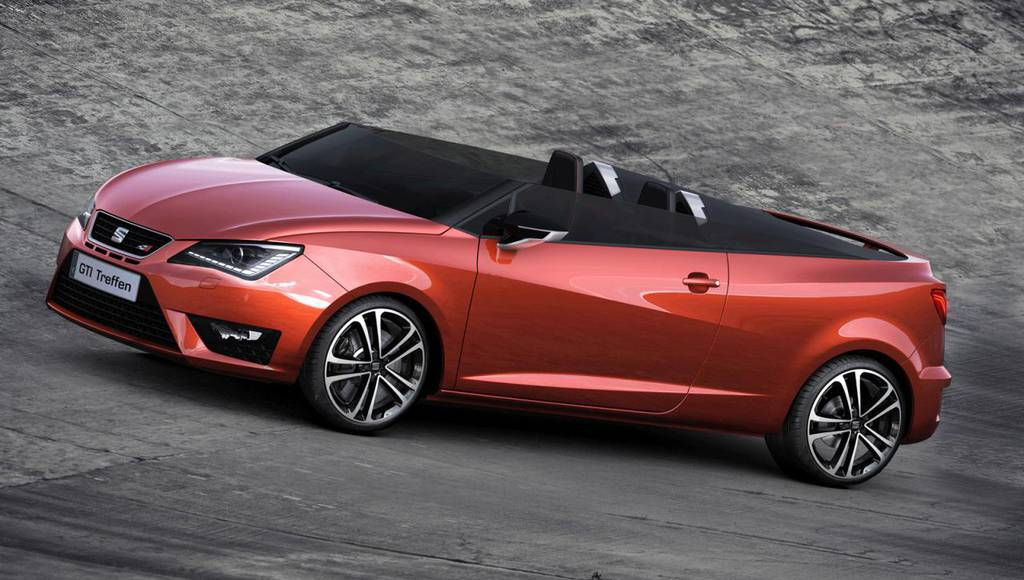 2014 Seat Ibiza Cupster Concept will debut in Worthersee