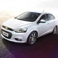 2015 Chevrolet Aveo facelift