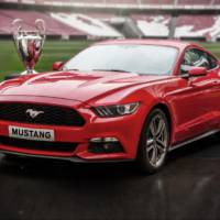 2015 Ford Mustang will debut in Europe during the UEFA Champions League Final