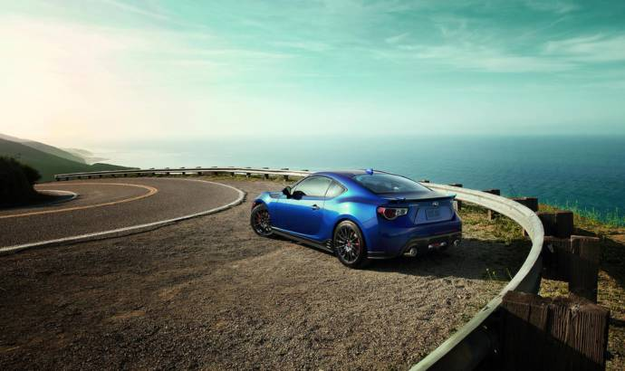 2015 Subaru BRZ Blue.Series launched