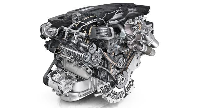 Audi new V6 diesel engine