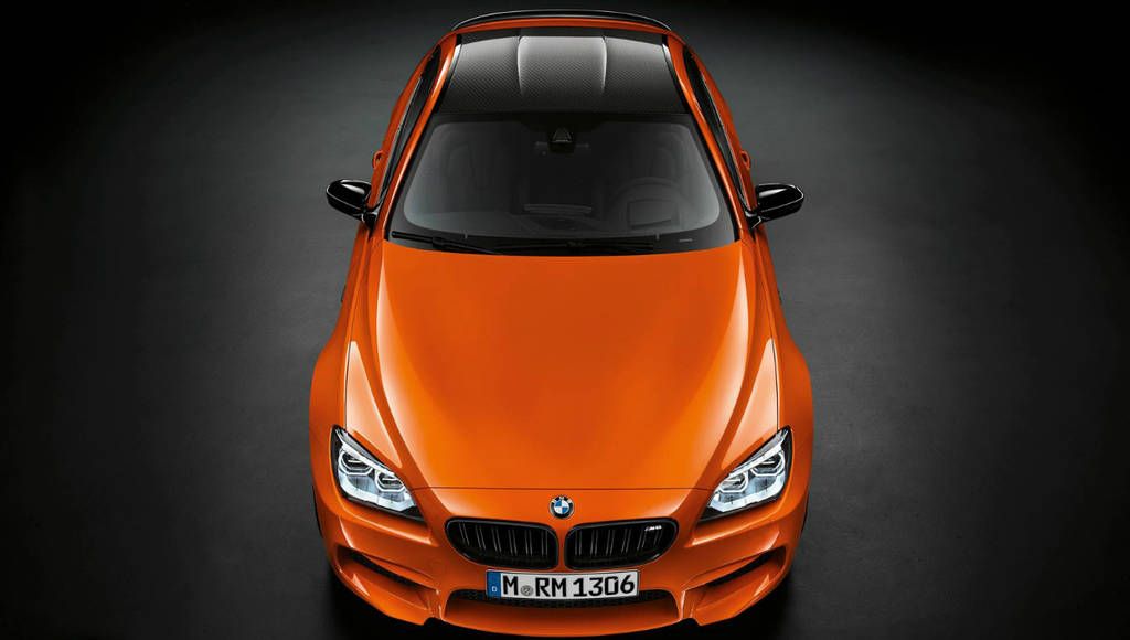 BMW M6 Coupe Fire Orange Special Edition