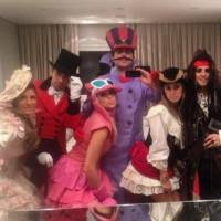 Felipe Massa dresses up like Jack Sparrow the pirate
