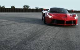Ferrari la Ferrari Top Gear test on Fiorano circuit