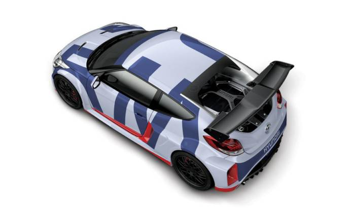 Hyundai Veloster Midship Concept unveiled