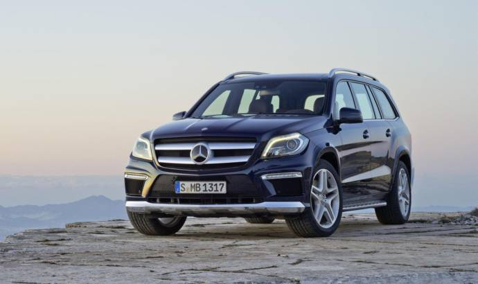 Mercedes GL400 version prepared