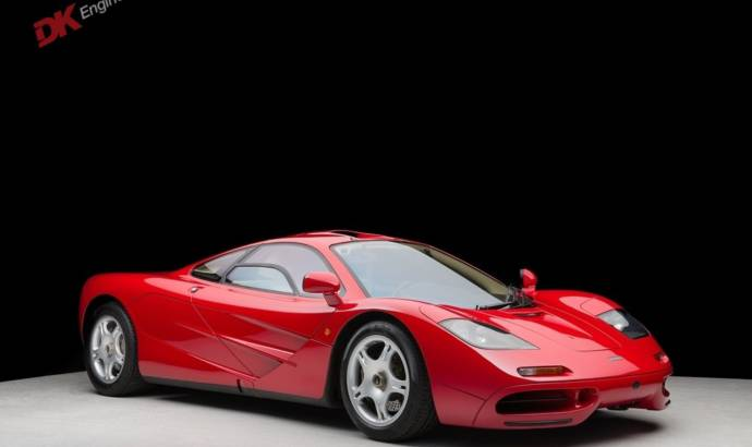 Most expensive McLaren F1 sold for 10.5 million USD