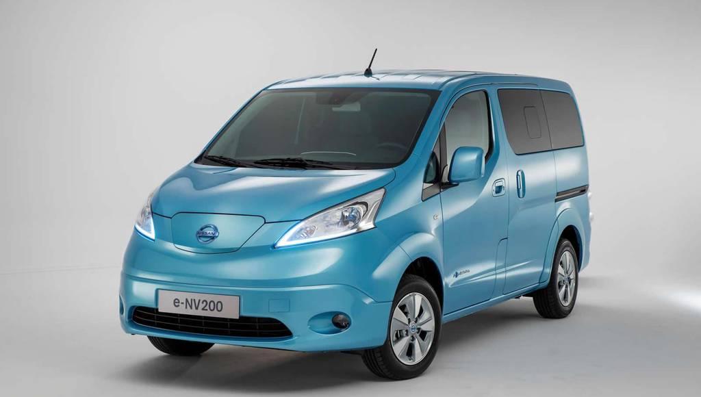 Nissan e-NV200 electric van UK price