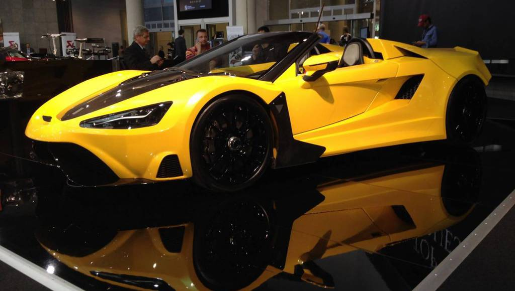 Tushek T600 unveiled at Top Marques Monaco