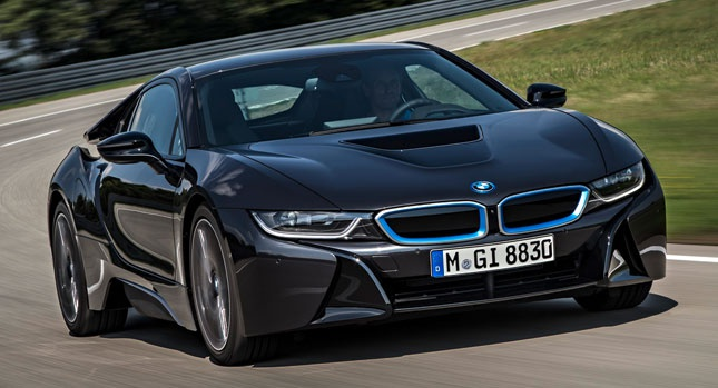 VIDEO: BMW i8 lightweight structure detailed