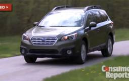 VIDEO: Consumer Reports 2015 Subaru Outback and Legacy review