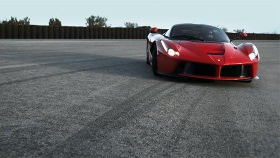Ferrari la Ferrari Top Gear test on Fiorano circuit