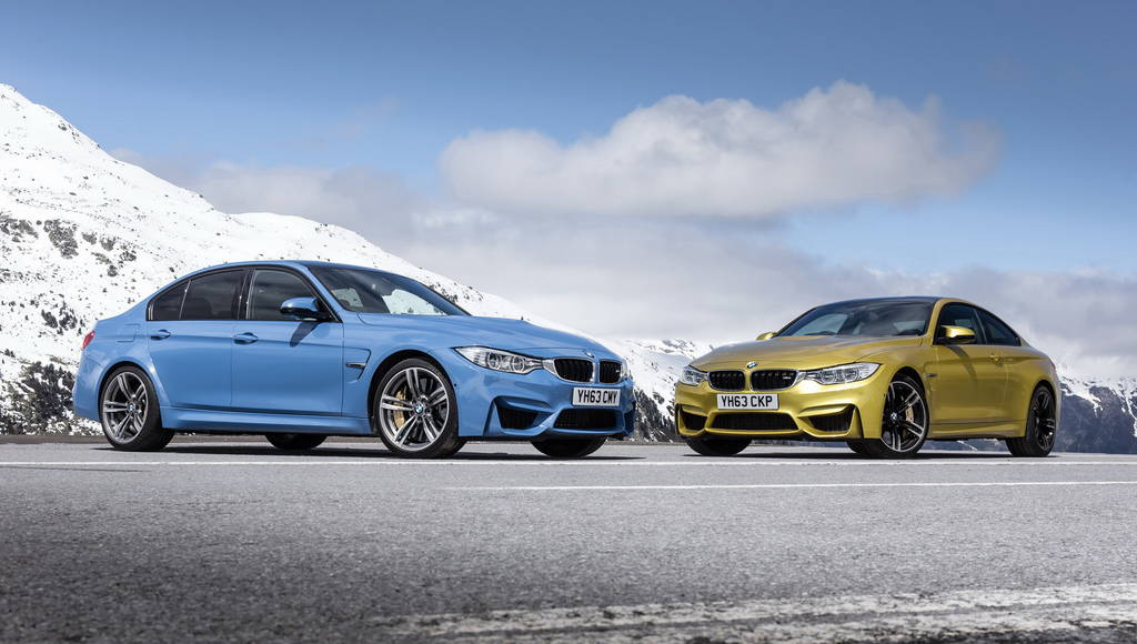 2014 BMW M3 and M4 Coupe UK prices