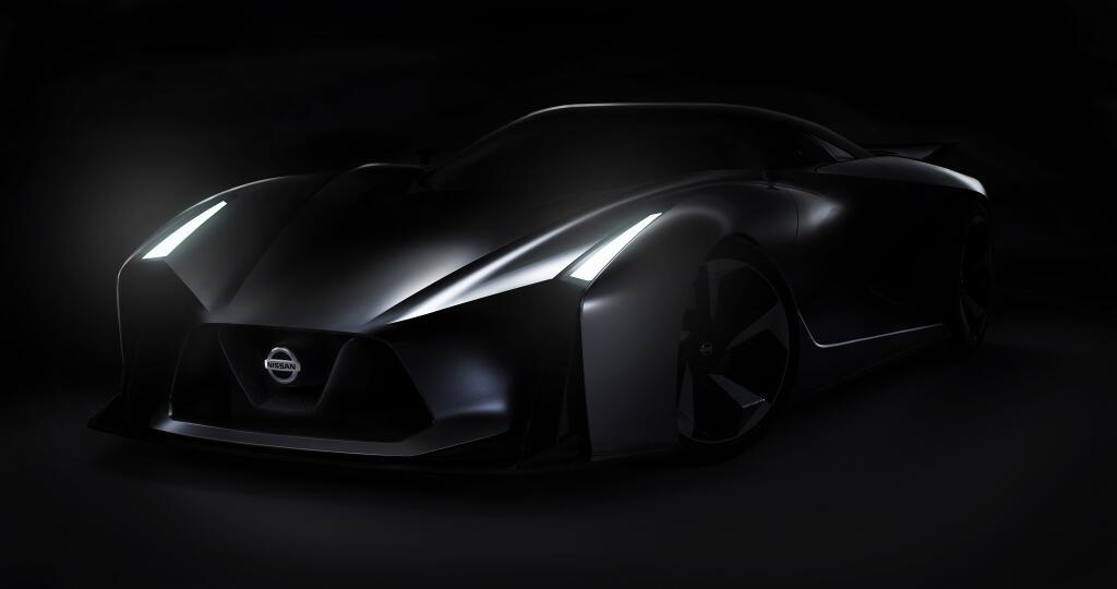 2014 Nissan Vision Gran Turismo Concept revealed in new picture