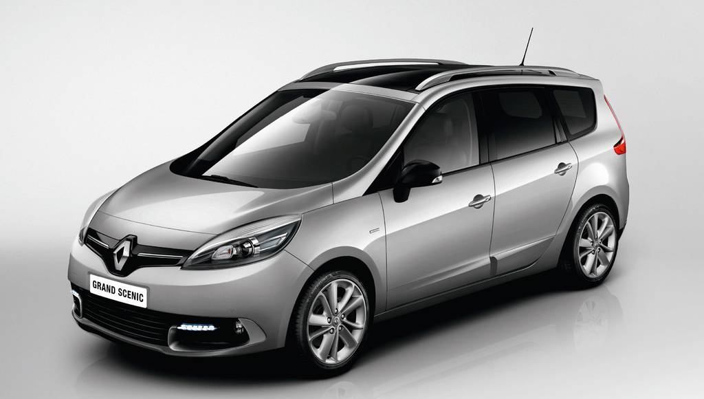 2014 Renault Scenic Limited introduced in UK