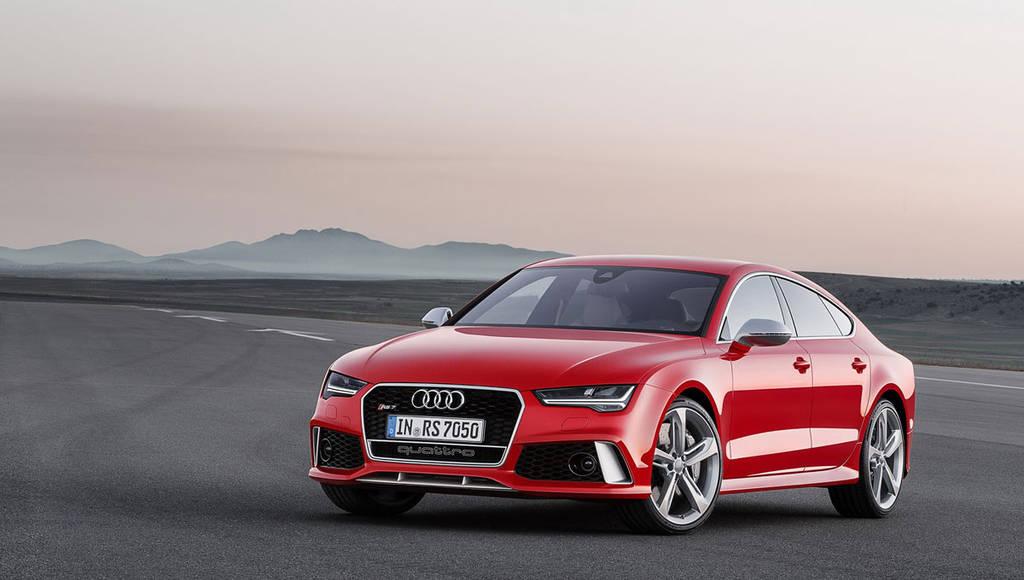 2015 Audi RS7 Sportback facelift introduced