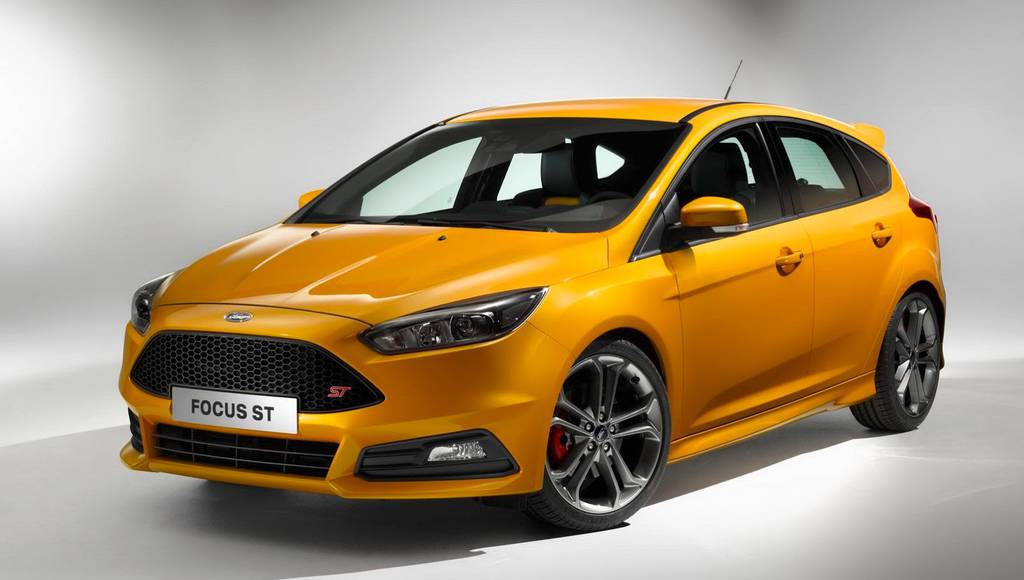 2015 Ford Focus ST facelift unveiled in Goodwood