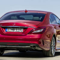 2015 Mercedes-Benz CLS facelift officially unveiled