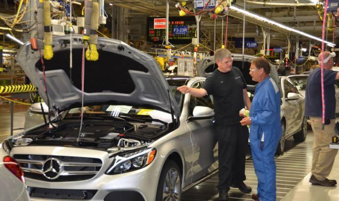 2015 Mercedes C-Class enters US production