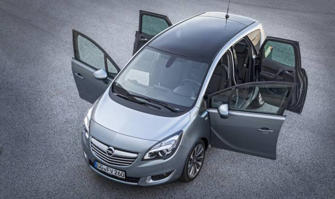 2015 Opel Meriva receives 95 hp 1.6 CDTI engine