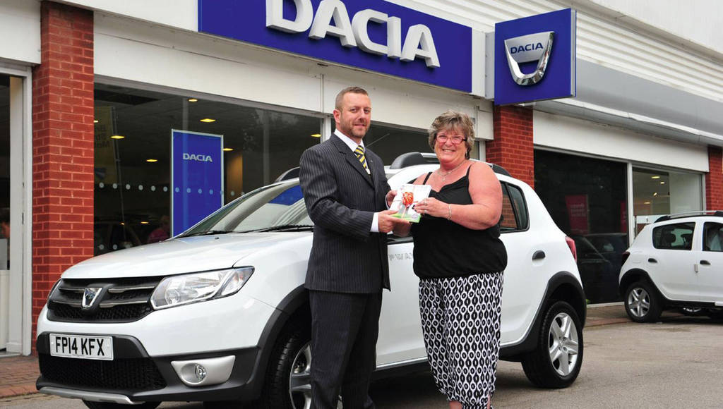 Dacia sold 25.000 cars in UK in 18 months