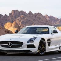 David Coulthard and Mercedes SLS AMG Black Series ready for Goodwood