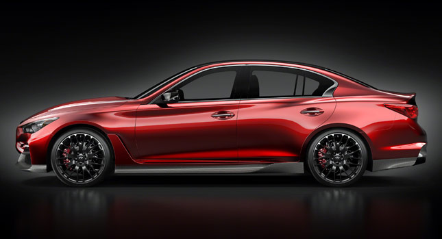 Infiniti Q50 Eau Rouge Concept to debut in Goodwood