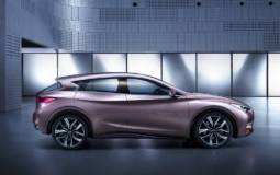 Infiniti QX30 officially confirmed