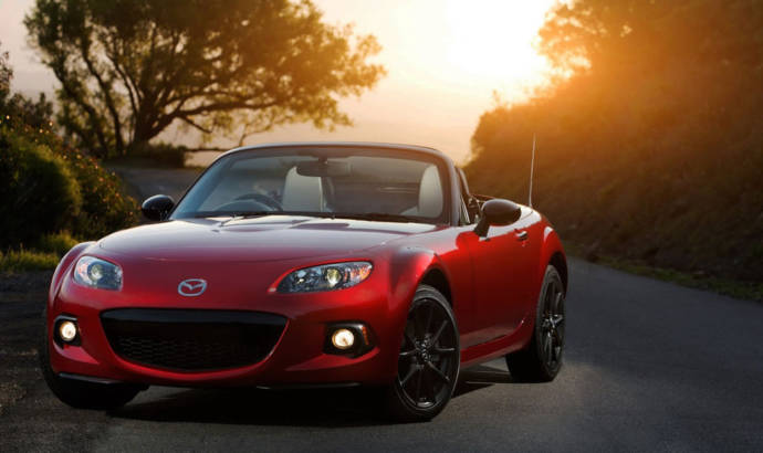 Mazda MX-5 25th Anniversary Edition available in UK