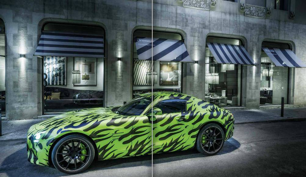 Mercedes-AMG GT will also feature a 462 HP version