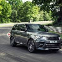 Overfinch Range Rover Sport tuning kit introduced
