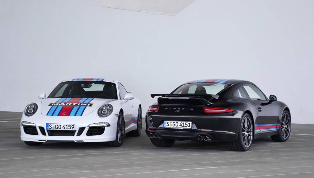 Porsche 911 Martini Racing Edition introduced