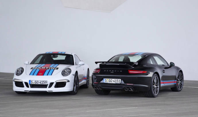 Porsche 911 Martini Racing Edition introduced