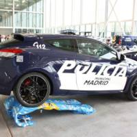 Renault Megane RS dressed in Police livery in Spain