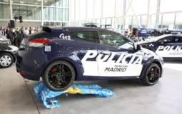 Renault Megane RS dressed in Police livery in Spain