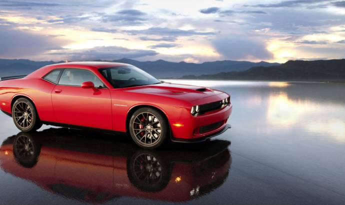 2015 Dodge Challenger SRT Hellcat delivers 707 HP and 880 Nm of torque