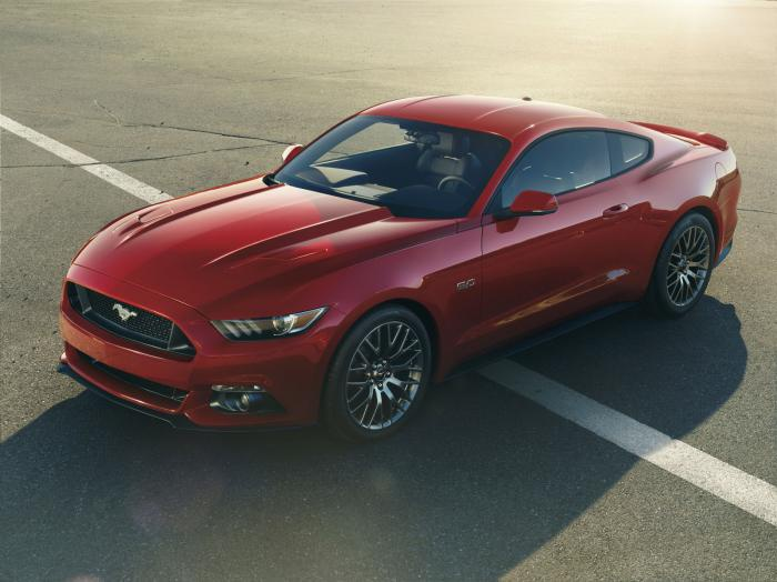 2015 Ford Mustang - Performance specifications
