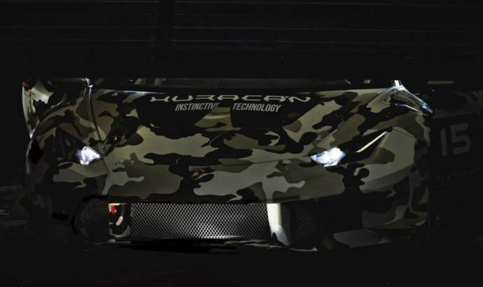 2015 Lamborghini Huracan Super Trofeo - First official teaser picture