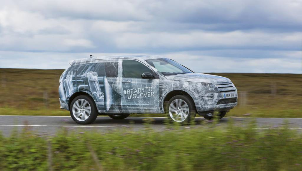 2015 Land Rover Discovery Sport - First video teaser