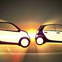 2015 Smart Fortwo and Forfour teaser video