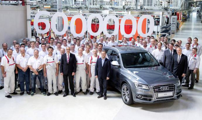 Audi has sold 6 million cars with quattro system