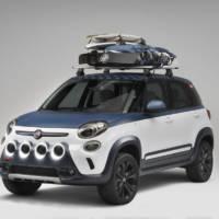 Fiat 500L Vans Concept unveiled